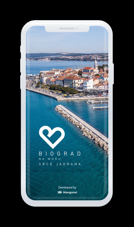 iPhone X Biograd_Splash